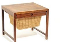 Rastad Relling Sewing Table / Palisander