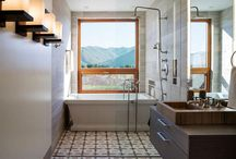 Bathroom views / The view out of a bathroom window can be as arresting as the actual bathroom. A great view can make a small space seem bigger or can give a larger space a focal point.