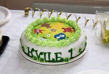 1 års tårtan!