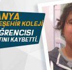 Alanya Bahçeşehir Koleji Öğrencisi Hayatını Kaybetti