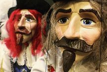 Puppets for everyday life - Czech Handmade Originals / Selection of Marionettes suitable for every player or collector.