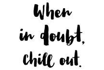 Chill man