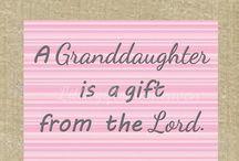 Granddaughters Grandkids Grandparent / by Barbara Ferrell