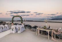 Crete sea view wedding