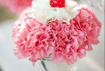 flowers @---->--