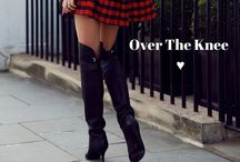 Over The Knne Boots - Fashion /  Over The Knne, fashion, moda, botas