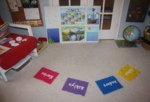 Preschool at home for Evan / by Amanda Swenson