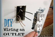 DIY: Wiring and Electricity...Shocking! / by Carla Honaker