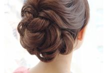 wedding hair stile
