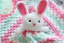 Bunny blanky crochet