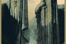 Cartel señor de los anillos