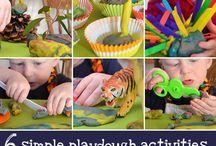 Toddler/Preschool Activities / by Kristen Mokhlessin