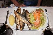 Portuguese Food / Food my husband and I had on the Camino Portuguese