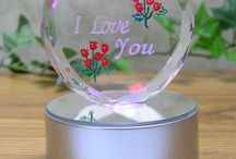 Jewelery Valentine's Day Glass Heart I Love You LEDHeart Romantic Gift New