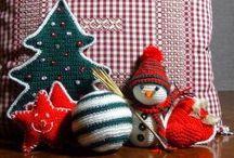 Natale 2013 video-tutorial uncinetto / Pallina di Natale, pupazzo di neve e alberello di Natale all'uncinetto. Video-tutorial