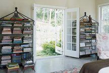 Bookcases / by Hampton Hostess CG3 Interiors-Barbara Page Home