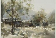 Chien Chung Wei / watercolor