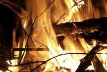 Fire / The fire inside puts you for challenges, but will always burn as long as you live.