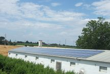 Roof-top solar farms / A selection of roof-top solar plants