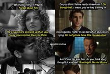 Bruce and Selina