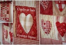 Quilts handmade by Cindy at her Country Home