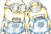 minions drawings ❤❤❤❤❤