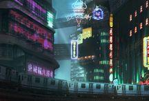 Sci—Fi Future World
