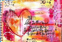 Art journals / by Debbie Talley