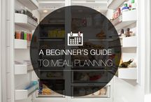 Meal Planning (yes, on a budget!) / Learning to meal plan/prep ahead of time for our family of 3 (2 of which are picky eaters - not naming names! ;) ) / by Sara Graf
