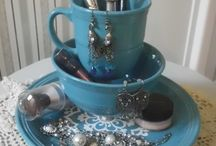 DIY Jewelry and Make Up Holder