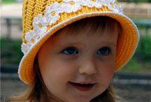 Crochet summer hats