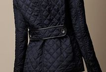 quilted-coat / fashion PUFFER- OUTWEAR