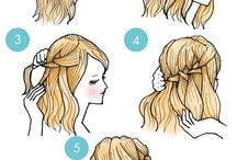 hairstyle cartoon