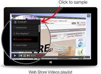web store videos