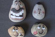 sten - ansigter