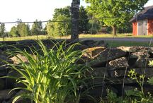 G L U M R I K E / Gården Glumsrike, belägen i södra Värmland. Trädgårdsdesign, trädgård, husprojekt, garden, gardering,
