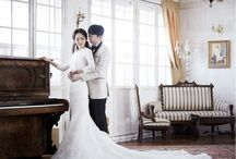 韓国 ウェディング|Korean Wedding / 韓国で行われた前撮り、後撮りをご紹介しています♡ We feature pre-weddings or post-weddings in Korea.