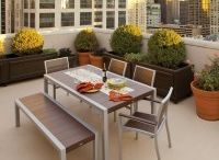 Trex Outdoor Furniture / Trex patio furniture is constructed of 100% recycled materials and lasts for generations. / by Frontera Furniture