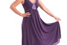 HESTIA FULL LENGTH GOWN / Our Hestia full length gown comes in two tone purple and has a diamond inset in the front to help support and flatter her figure. Sizes range from Small to 4X.
