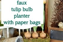 Faux Flower Bulbs