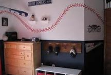 Play Ball / Boys baseball bedroom ideas