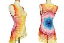 Gehäkelte Mandala Vest  Floral Sweater  Eco-Friendly  von Pippiripi
