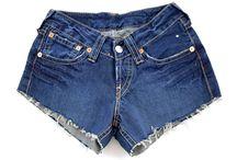 Denim short at Envy05 online store / Denim short. High waist. Vintage. Shop now at www.envy05.com