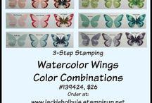 Cards - SU watercolor sets