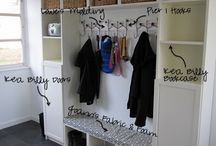 Mud room ideas/ entryway storage ideas/ foyer