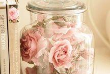 Růže dekorace