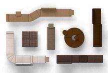 P4   Modular / Activity Based Working, Multi-Use, Flexible, Modular Furniture