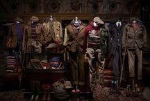 """Ralph Lauren: Country Gentleman / Ralph Lauren: Country Gentleman """"Key Looks""""."""