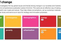 Futures thinking and Service Design / Foresight, futures thinking Ennakointi, tulevaisuustutkimus  ja palvelumuotoilu