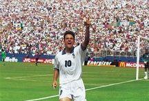 ロベルト・バッジョ(Roberto Baggio) / ロベルト・バッジョ(Roberto Baggio)  「イタリアの至宝」、「偉大なるポニーテール」と称されたファンタジスタ‼